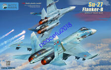 Kitty Hawk KH80163 1/48 Static plastic model Su-27 Flanker-B 2020 new