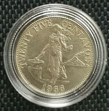 1966 CENTRAL BANK OF THE PHILIPPINES 25 Centavos Coin Ø 23mm(+FREE1 coin)#10148