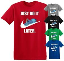 Lilo and Stitch Do It Later Disney Funny T Shirt Men Women Unisex Birthday Top