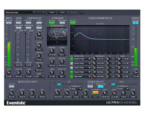 Eventide UltraChannel Native Plug-In AAX VST AU PC MAC eDelivery
