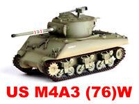 Easy Model 1/72 M4A3 (76)w Sherman Middle Tank 4th Tank Bat. 1st Div. #36262