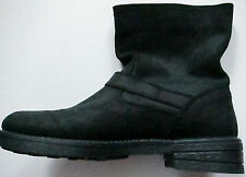 New Womens Black Leather NEXT Boots Size 7