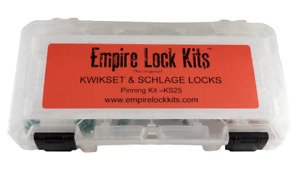 Rekey Pin Kit For Kwikset And Schlage Locks Top And Bottom Pins And Springs