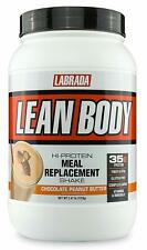 LABRADA – Lean Body High Protein Meal Replacement Shake, Chocolate Peanut Butter