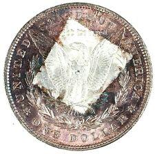 1904-O Rainbow Toned Morgan Silver Dollar BU Unc S$1
