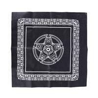 49*49cm pentacle tarot game tablecloth board game textiles tarots table cover/LD