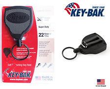 """Key-Bak SUPER48 Retractable Key Holder Belt Clip Convert Super Duty 36"""" Kevlar"""