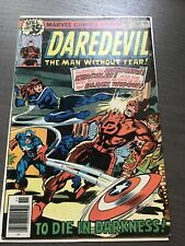 Daredevil # 155 Marvel. Vf Featuring The Avengers, Hercules and Black Widow.
