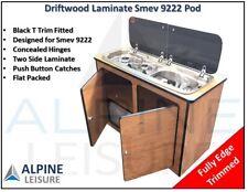Ford Transit Caravan Camper horsebox kitchen Sink Smev 9222 Pod unit Driftwood