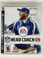 NFL Head Coach 09 PlayStation 3 (PS3) COMPLETE - CIB - FREE SHIPPING