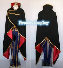 Code Geass Lelouch of the Rebellion Lelouch Lamperouge ZERO Cosplay Costume Anys
