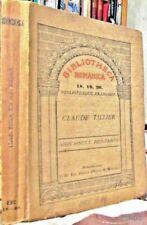 "MON ONCLE BENJAMIN/ C TILLIER // ED J.H. HEITZ & MUNDEL ""Bibliotheca Romana 1906"