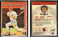 Todd Dunn Signed 1999 Baseball America #38 Card Russ Bove Auto Autograph