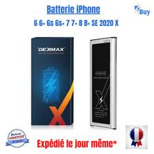 Batterie Deji  interne neuve iPhone 6 6Plus 6s 6s+ 7 7+ 8 8+ X  SE 2020