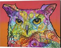 Red Owl by Dean Russo, Canvas Wall Art, 20W x 16H