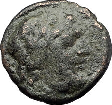AMPHIPOLIS in MACEDONIA 95BC RARE R1 Ancient Greek Coin JUPITER GALLEY i63244
