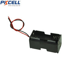 """Aa Battery Holder Box Case for 4pcs Aa 1.5 Volt battery Cell with 3"""" Wire Leads"""