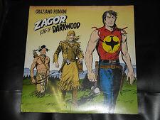 33 GIRI DOPPIO ZAGOR E LA MUSICA KING darkwood - CD -ANCORA SIGILLATO+ HO CD TEX