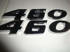 460 Black and Chrome Emblem Badge Made for Ford and other New