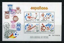SPAIN LOT OF 8  SCOTT#2295 SOCCER  SOUVENIR SHEET   MINT NH -SCOTT $14.00