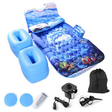 Car Air Bed Inflatable Mattress Back Seat Pads W/ 2 Pillows Travel Camping Sleep