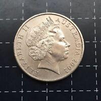 2002 AUSTRALIAN 20 CENT COIN