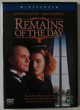 THE REMAINS OF THE DAY / JAMES IVORY / WIDESCREEN RGN 2 PAL / NEW SEALED