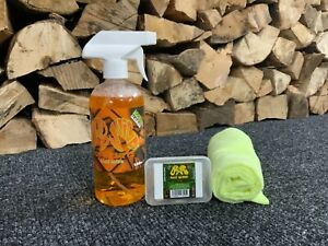 Dodo Juice 50g Car Clay Bar & Lube Kit - Born Slippy 500ml & x2 FREE microfibres