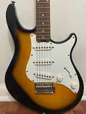 Peavey Raptor Plus 6 Six String Electric Guitar Black White Sunburst Used