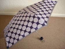Totes Mini Purple Spot Thin Umbrella (5 Section)