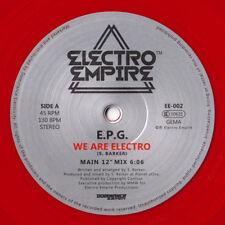 old school: EPG - We Are Electro (Electro Empire 002) vocoder egyptian lover