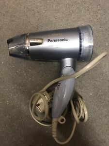 Panasonic Low-Noise IONITY Hair Dryer EH5373 Silver Foldable
