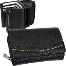 ESPRIT Damen Geldbörse Brieftasche Geldbeutel Portemonnaie Geldtasche Schwarz