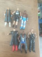 Wwe Mattel Wrestling Figure Bundle X6