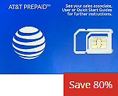 AT&T Prepaid Simcard (Activate on our Website)