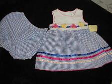 EUC Spring/Summer Girls' Applique Dress very cute size 12 months