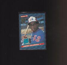 1986 Donruss Andres Galarraga Montreal Expos #33 Baseball Card RC Rated Rookie