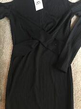 Miss Selfridge Black Size 6 Dress