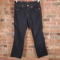 Ermenegildo Zegna Black Cotton 5 Pocket Straight Leg Pants Men's Size 34R x 30