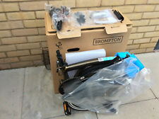 Brompton M2L Dark Raw Black Edition 2 Speed Folding Bike New Worldwide Shipping