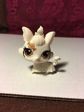 Littlest Pet Shop~#3307~Candy Swirl~Yorkie~Puppy Dog~White~Gold Dot Eyes