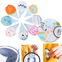 Random Summer Cartton Round Mini Folding Fan Cute Small Fan Silk Souvenir Gif GD