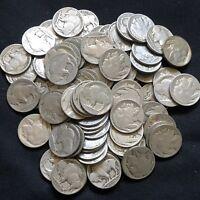 USA Lot 10x Buffalo Nickel 5 Cent Münzen gemischt Sammlung 1913-1938 Part. Date