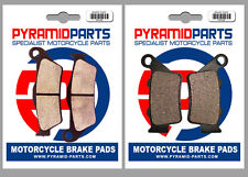 Husqvarna SM 125 Supermotard, S 99-13 Front & Rear Brake Pads Full Set (2 Pairs)