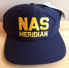 U.S. Navy Naval Air Station Meridian Baseball Cap Hat, Meridian, Ms, New