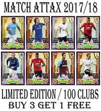 Match Attax 2017/18 17/18 100 CLUB LIMITED EDITION Card 2018