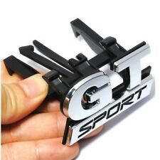 GT Sport Grillemblem Gran Turismo Emblem Grill Schriftzug Kühlergrill Logo