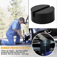 Enhanced Rubber Slotted Floor Jack Pad  Frame Universal For Car Repair 1PCS