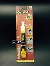 OLFA MODEL DA-1 / 9 MM KNIFE WITH BUILT IN BLADE SNAPPER / DISPOSAL CONTAINER