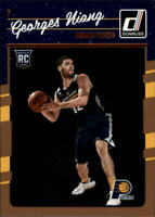 2016-17 Donruss Indiana Pacers Basketball Card #189 Georges Niang RC